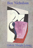 Galerie Maeght Lelong Collectable Print by Ben Nicholson