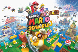 Super Mario - 3D World Posters