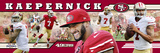 San Francisco 49ers - Colin Kaepernick Panoramic Photo Photo