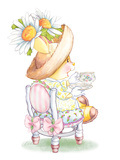 Daisy Breeze Tea Bunny Kunstdrucke