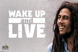 Bob Marley - Wake Up and Live Posters