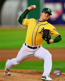 Oakland Athletics - Sonny Gray 2014 Action Photo