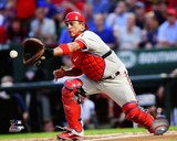 Philadelphia Phillies - Carlos Ruiz 2014 Action Photo