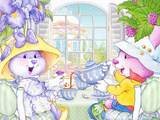 Tea Bunnies Tea for You and Me Posters