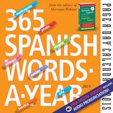 365 Spanish Words-A-Year - 2015 Calendar Calendars