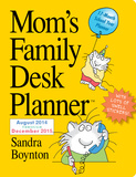 Mom's Family - 2015 Desk Planner Calendars