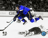 St Louis Blues - T.J. Oshie 2013-14 Spotlight Action Photo
