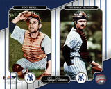 NY Yankees Legacy Collection 2 Yogi Berra & Thurman Munson Photo