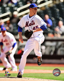 New York Mets - Zack Wheeler 2014 Action Photo