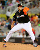 Miami Marlins - Jose Fernandez 2014 Action Photo