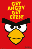 Angry Birds - Get Angry Get Even Stampe