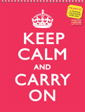 Keep Calm and Carry On - 2015 Poster Calendar Calendars