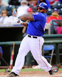 Texas Rangers - Prince Fielder 2014 Action Photo