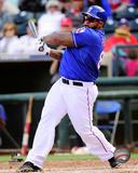 Texas Rangers - Prince Fielder 2014 Action Photo