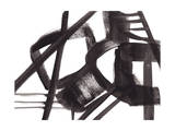 Black and White Abstract Painting 3 Giclee Print by Jaime Derringer