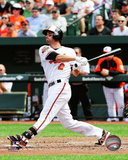 Baltimore Orioles - J.J. Hardy 2014 Action Photo