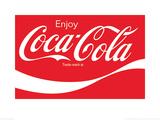 Coca-Cola Logo Plakaty