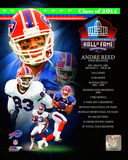 Buffalo Bills - Andre Reed 2014 Hall of Fame Composite Photo