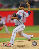 Cleveland Indians - Danny Salazar 2014 Action Photo
