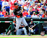 Miami Marlins - Giancarlo Stanton 2014 Action Photo