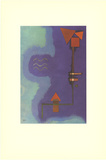 Tirant Sur Le Violet Collectable Print by Wassily Kandinsky