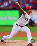 Texas Rangers - Yu Darvish 2014 Action Photo