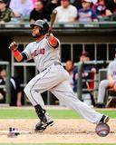Cleveland Indians - Carlos Santana 2014 Action Photo