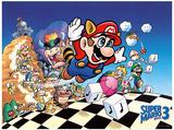 Super Mario Bros 3 Poster Masterprint