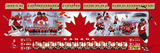 Team Canada 2014 Winter Olympics Gold Medal Winners Panoramic Photo Photo