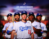 Los Angeles Dodgers 2014 Team Composite Photo