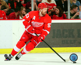 Detroit Red Wings - Johan Franzen 2013-14 Action Photo