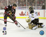 Chicago Blackhawks - Jonathan Toews 2014 NHL Stadium Series Action Photo