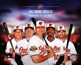 Baltimore Orioles 2014 Team Composite Photo