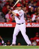 Los Angeles Angels - David Freese 2014 Action Photo