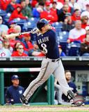 Milwaukee Brewers - Ryan Braun 2014 Action Photo