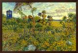Vincent Van Gogh Tardis Montmajour Poster Poster by Vincent van Gogh