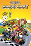 Super Mario - Kart Retro Poster