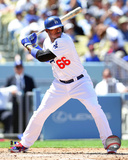 Los Angeles Dodgers - Yasiel Puig 2014 Action Photo