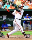 Baltimore Orioles - Nick Markakis 2014 Action Photo