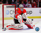 Chicago Blackhawks - Corey Crawford 2013-14 Action Photo