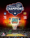 University of Connecticut Huskies 2014 NCAA Women's College Basketball National Champions Composite Photo