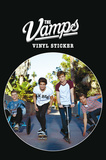 The Vamps Vinyl Sticker Naklejki