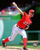 Washington Nationals - Stephen Strasburg 2014 Action Photo