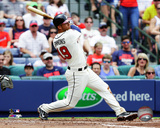 Atlanta Braves - Andrelton Simmons 2014 Action Photo