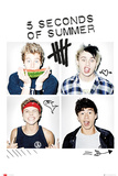 5 Seconds of Summer - Squares Posters