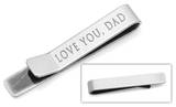 Love you, Dad Tie Bar Novelty