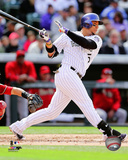 Colorado Rockies - Carlos Gonzalez 2014 Action Photo