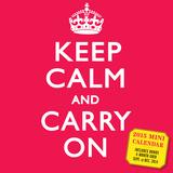 Keep Calm and Carry On - 2015 Mini Calendar Calendars