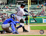Detroit Tigers - Ian Kinsler 2014 Action Photo