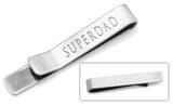 Superdad Tie Bar Novelty